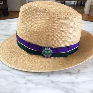 Other - NWOT Wimbledon straw Panama style hat